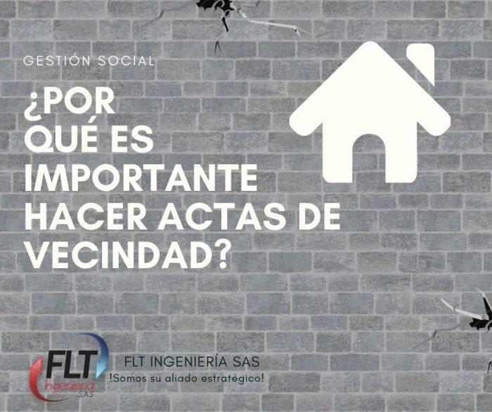 ACTA DE VECINDAD